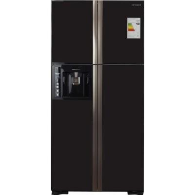 Холодильник Hitachi R-W 662 PU3 GBW коричневое стекло