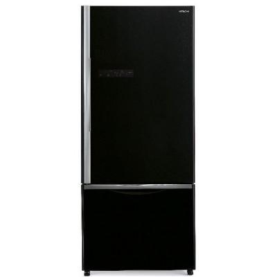 Холодильник Hitachi R-B 572 PU7 GBK черное стекло