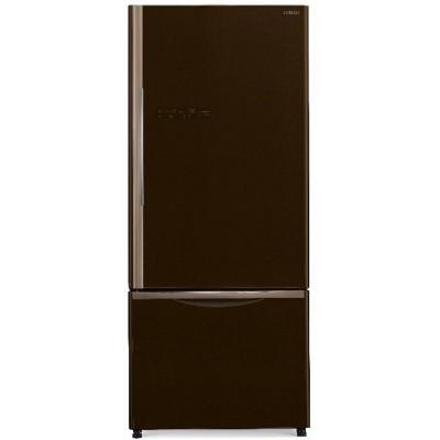 Холодильник Hitachi R-B 572 PU7 GBW коричневое стекло