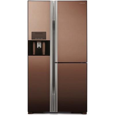Холодильник Hitachi R-M702 GPU2X MBW коричневый зеркальный