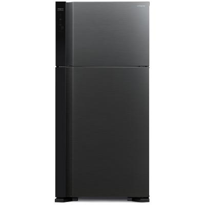 Холодильник Hitachi R-V662 PU7 BBK  чёрный бриллиант