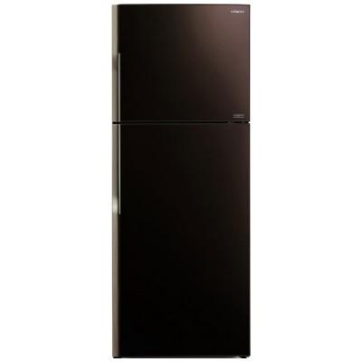 Холодильник Hitachi R-VG472 PU3 GBW коричневое стекло