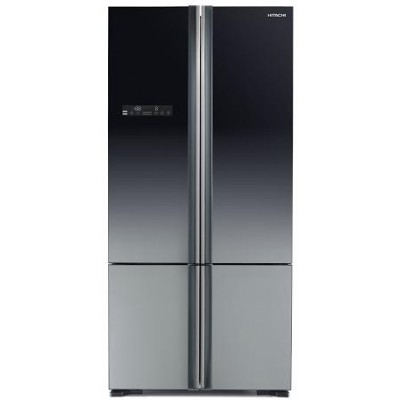 Холодильник Hitachi R-WB 732PU5 XGR градиент серый стекло