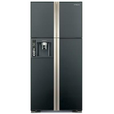 Холодильник Hitachi R-W 662 FPU3X GGR графитовое стекло